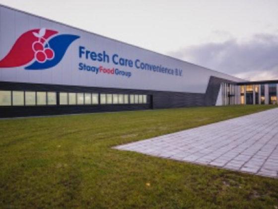 Grootste Ucrete vloer van Nederland: Staay Food Group